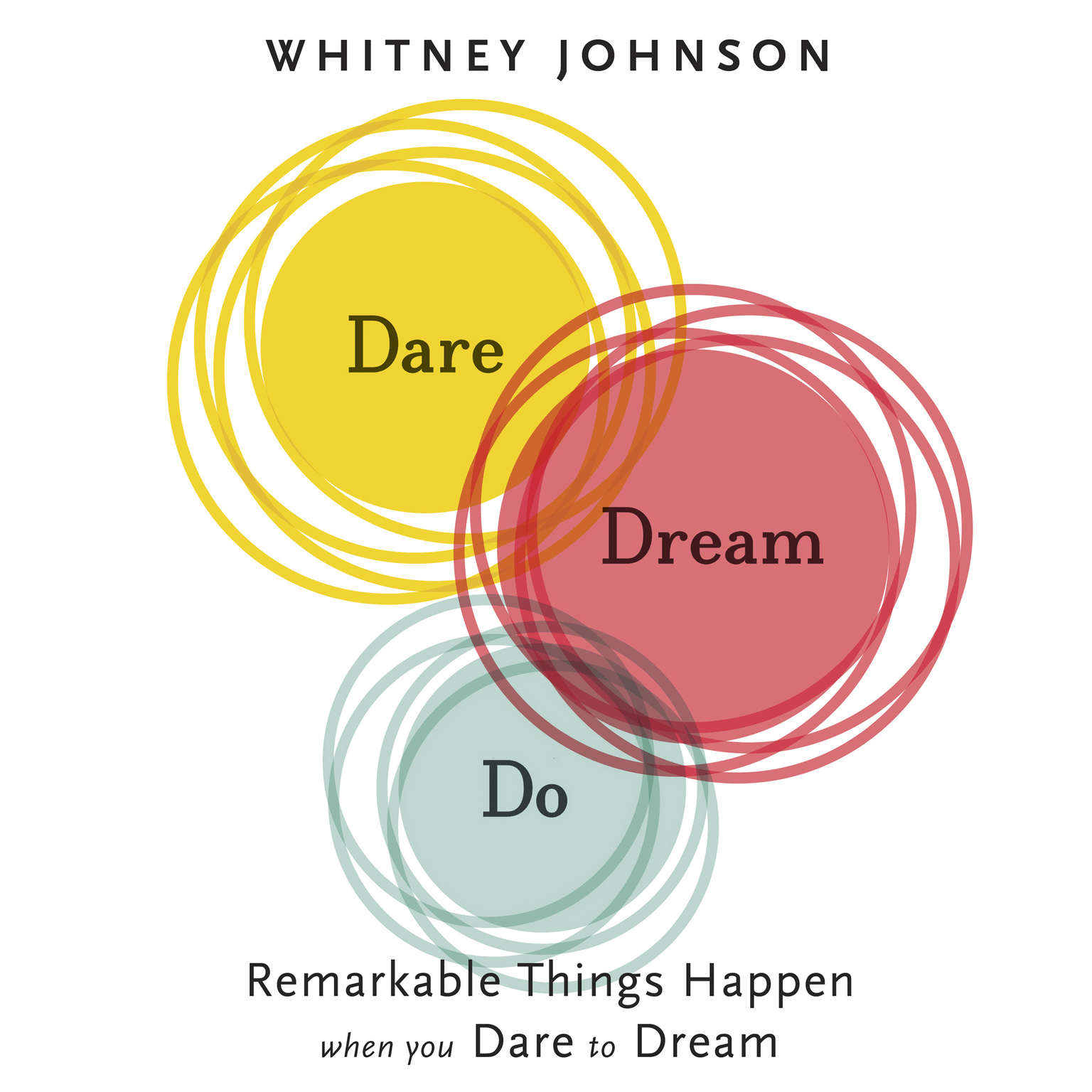 Printable Dare, Dream, Do: Remarkable Things Happen When You Dare to Dream Audiobook Cover Art