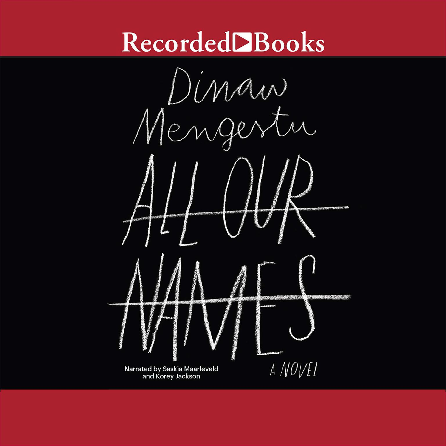 Printable All Our Names Audiobook Cover Art