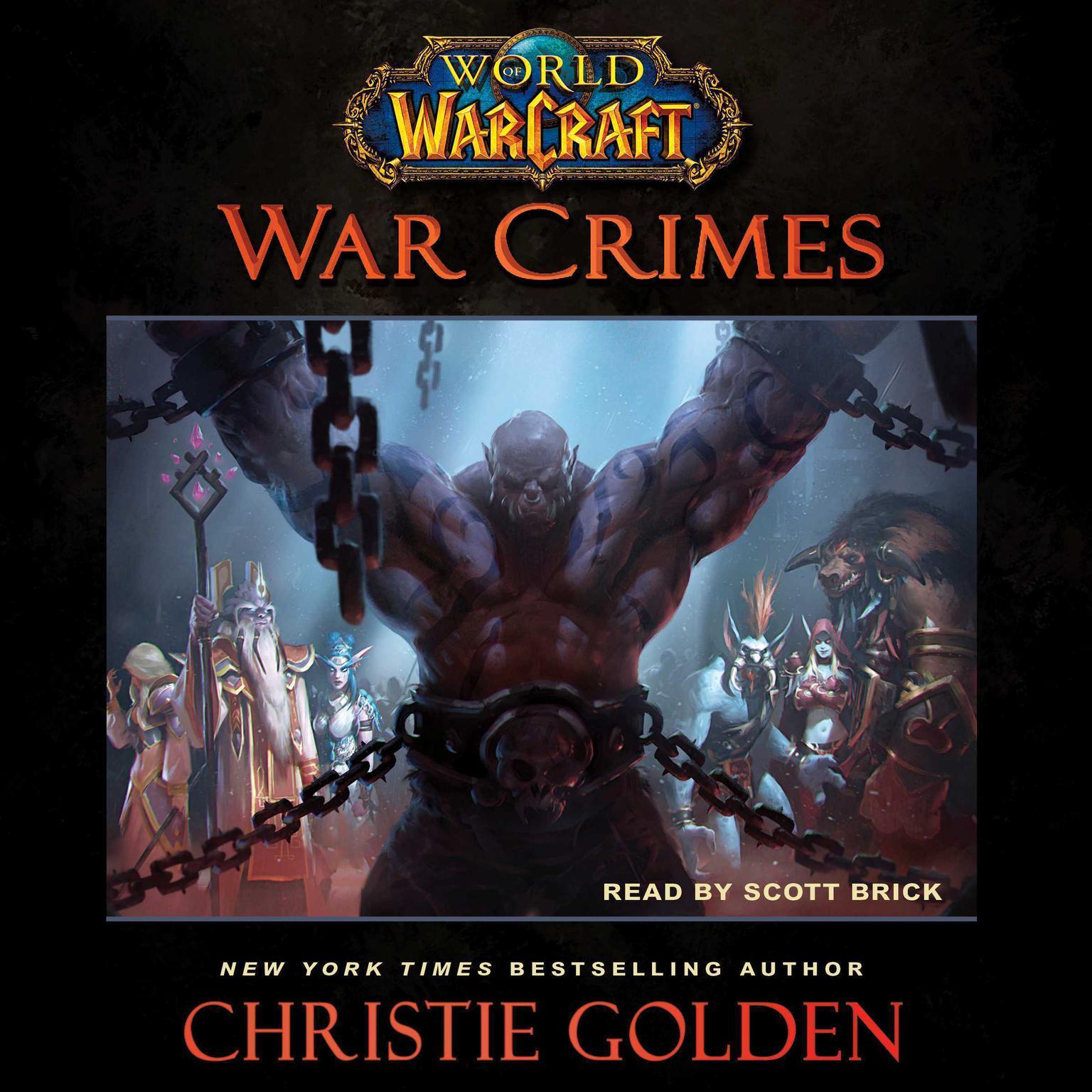 Printable World of Warcraft: War Crimes Audiobook Cover Art