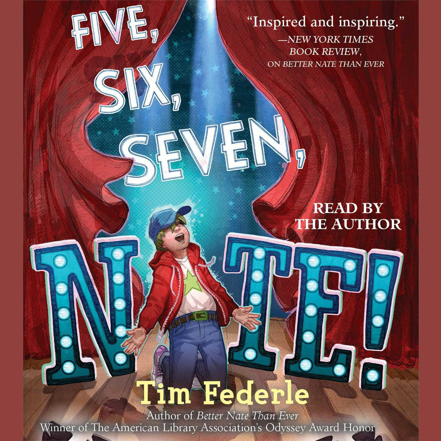 Printable Five, Six, Seven, Nate! Audiobook Cover Art
