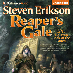 Reapers Gale Audiobook, by Steven Erikson