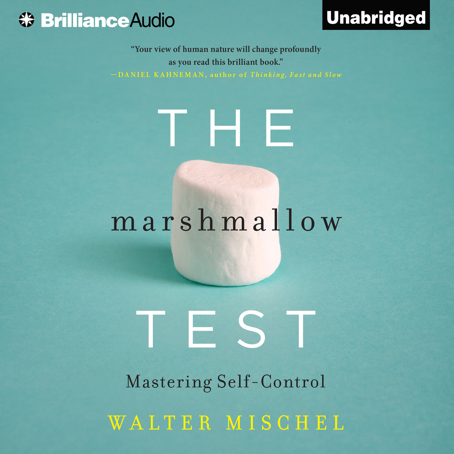 Printable The Marshmallow Test: Mastering Self-Control Audiobook Cover Art