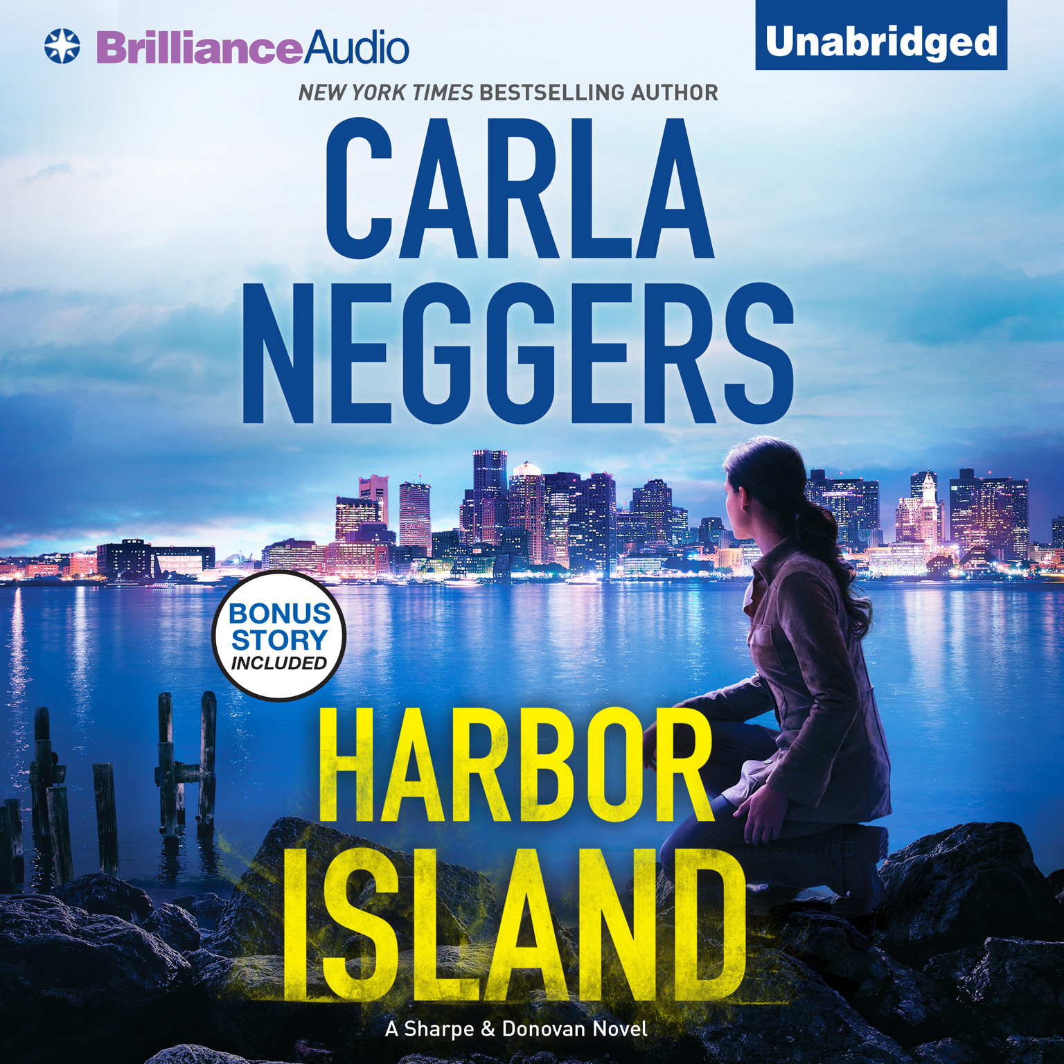 Printable Harbor Island Audiobook Cover Art