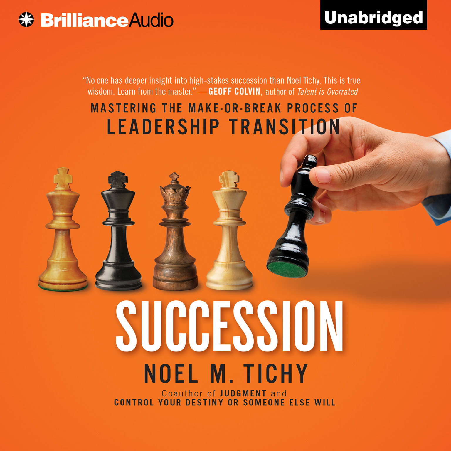 Printable Succession: Mastering the Make-or-Break Process of Leadership Transition Audiobook Cover Art