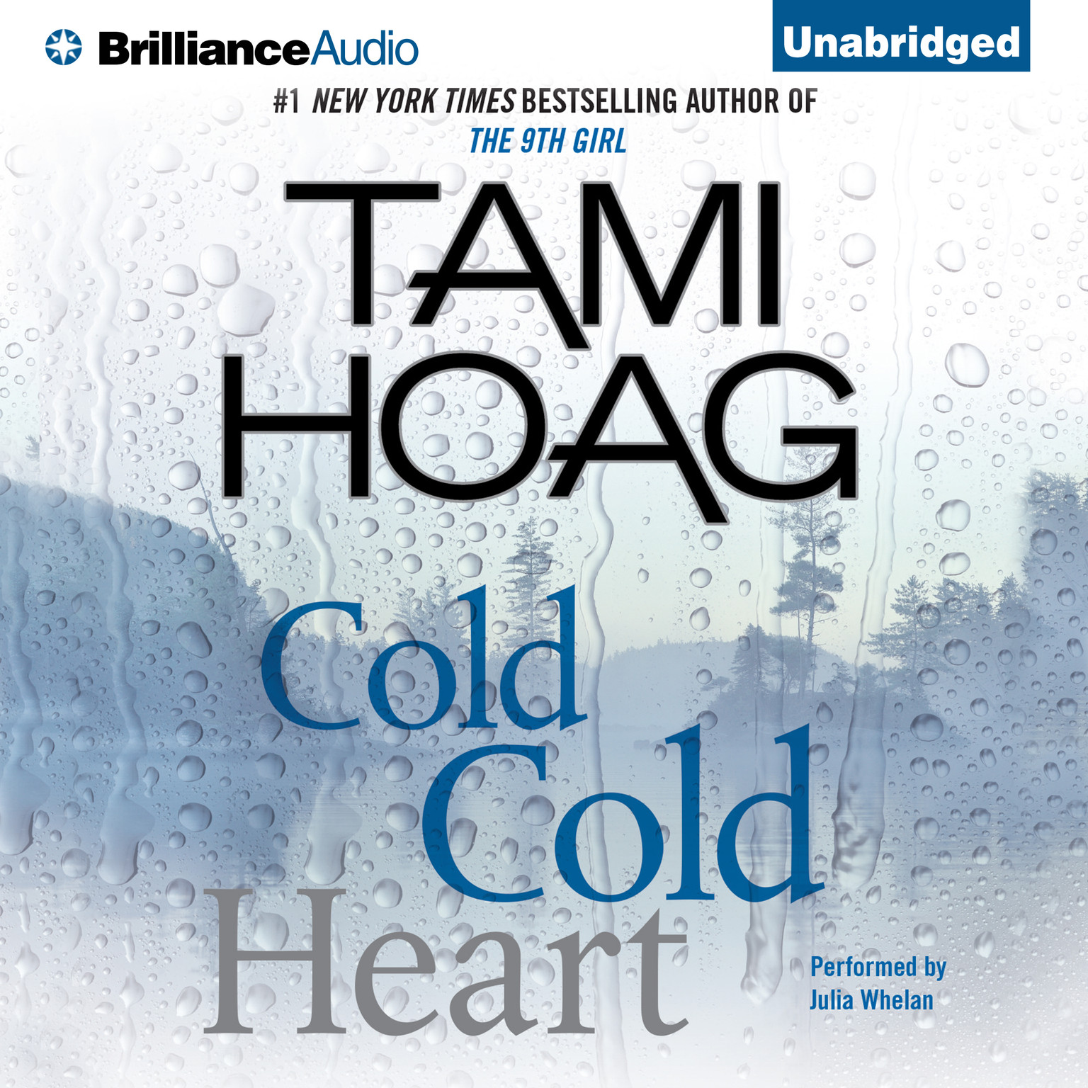 Printable Cold Cold Heart Audiobook Cover Art