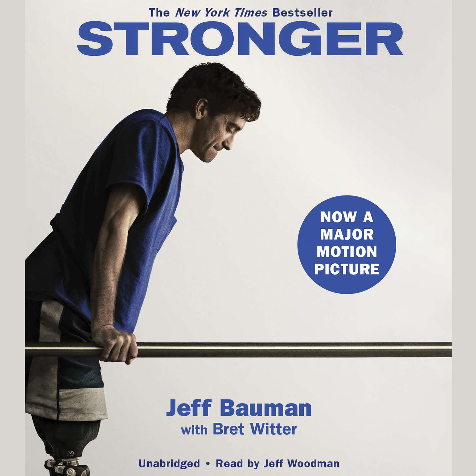 Printable Stronger Audiobook Cover Art