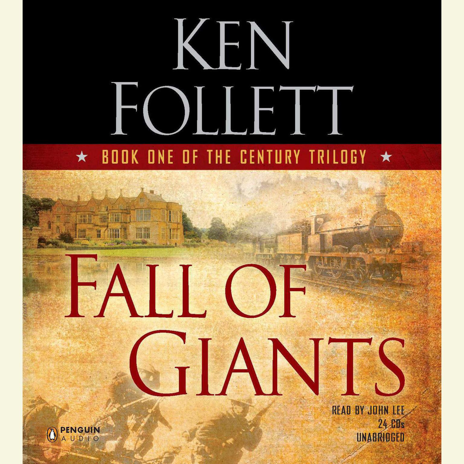 Printable Fall of Giants Audiobook Cover Art