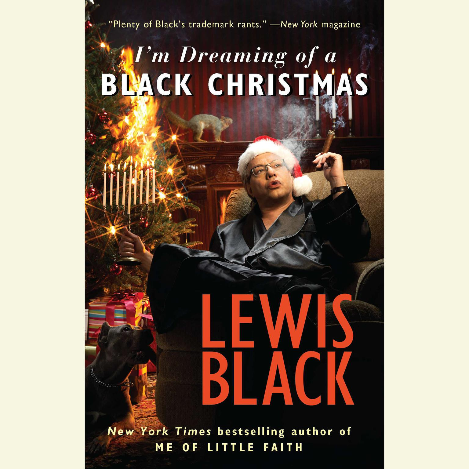 Printable I'm Dreaming of a Black Christmas Audiobook Cover Art