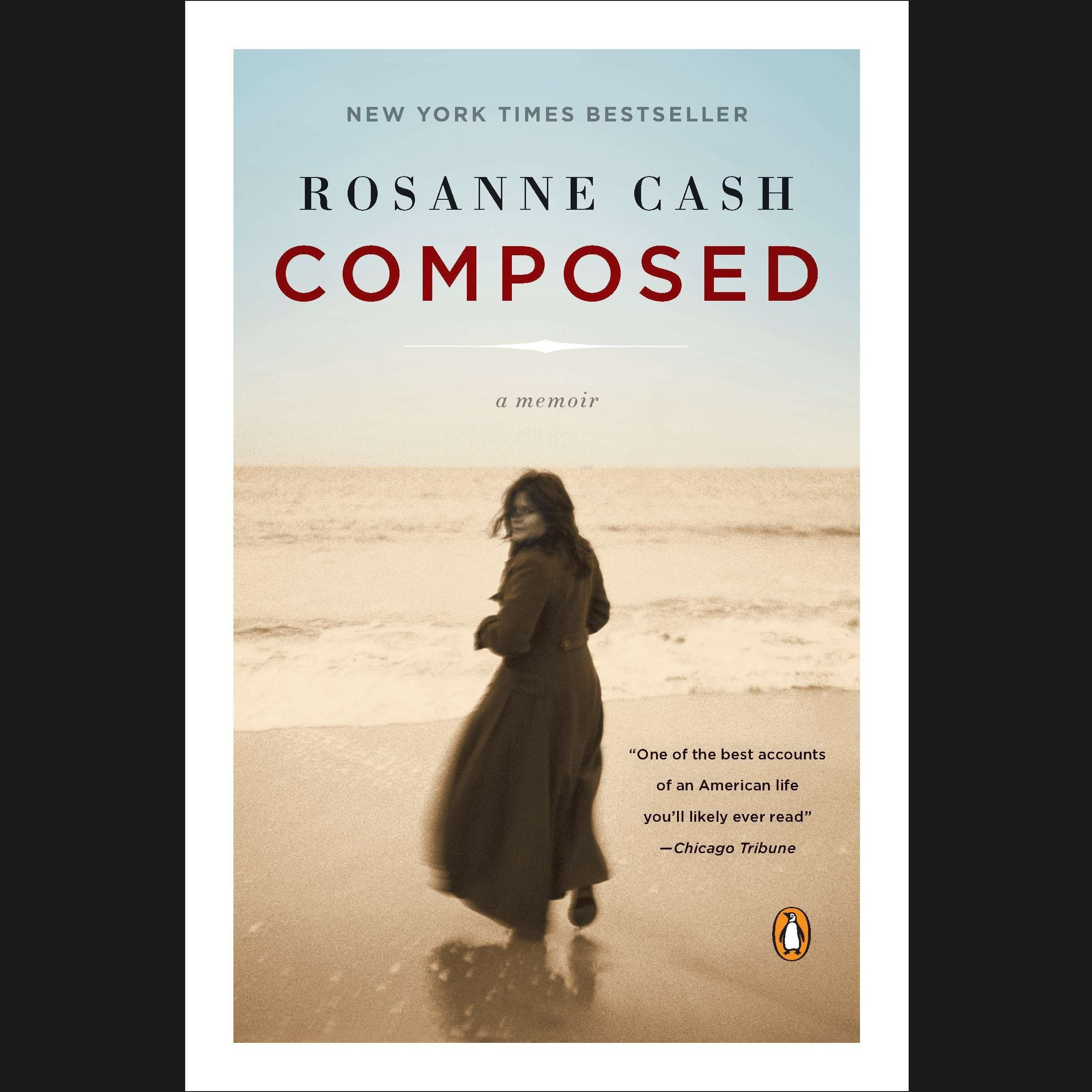 Printable Composed: A Memoir Audiobook Cover Art