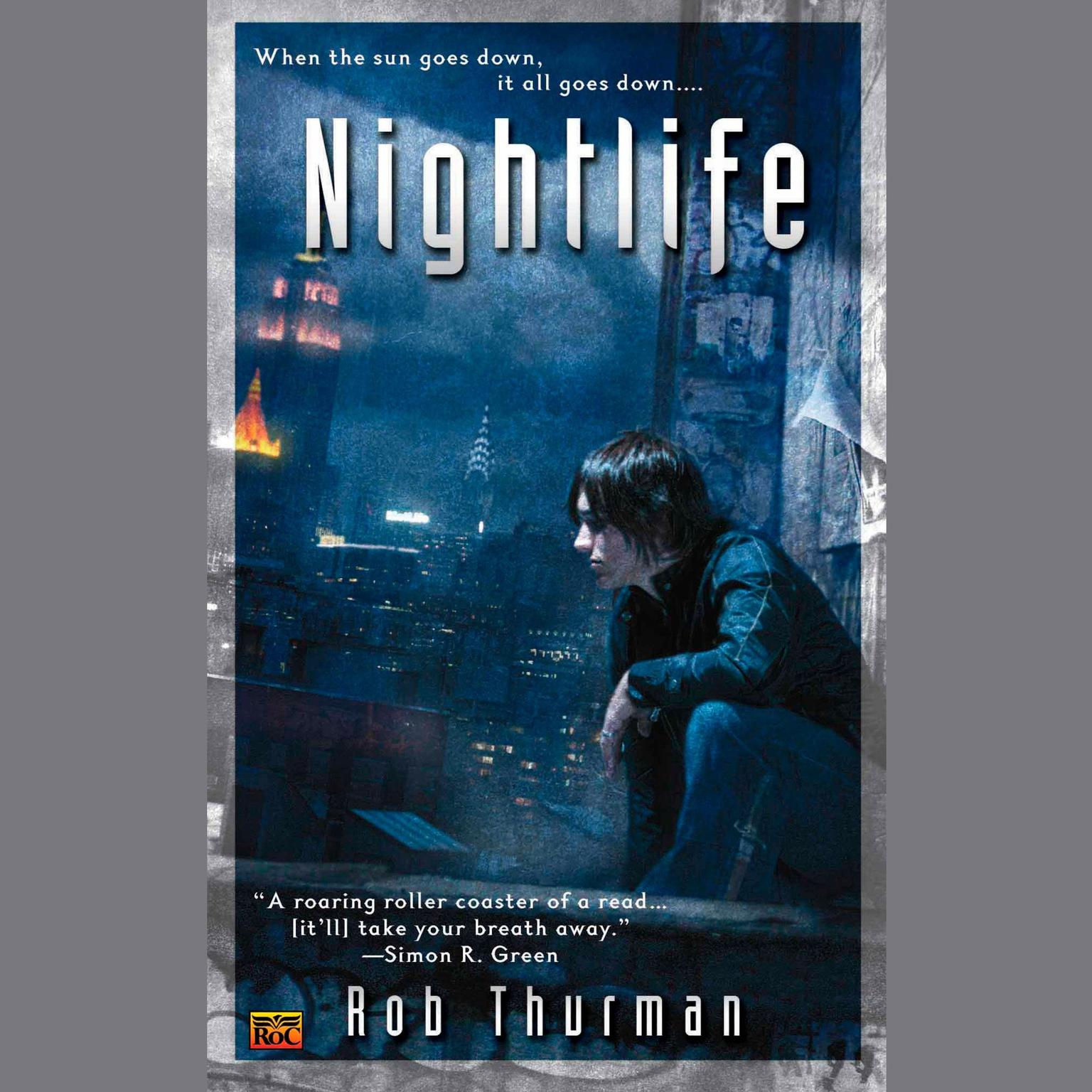 Printable Nightlife Audiobook Cover Art