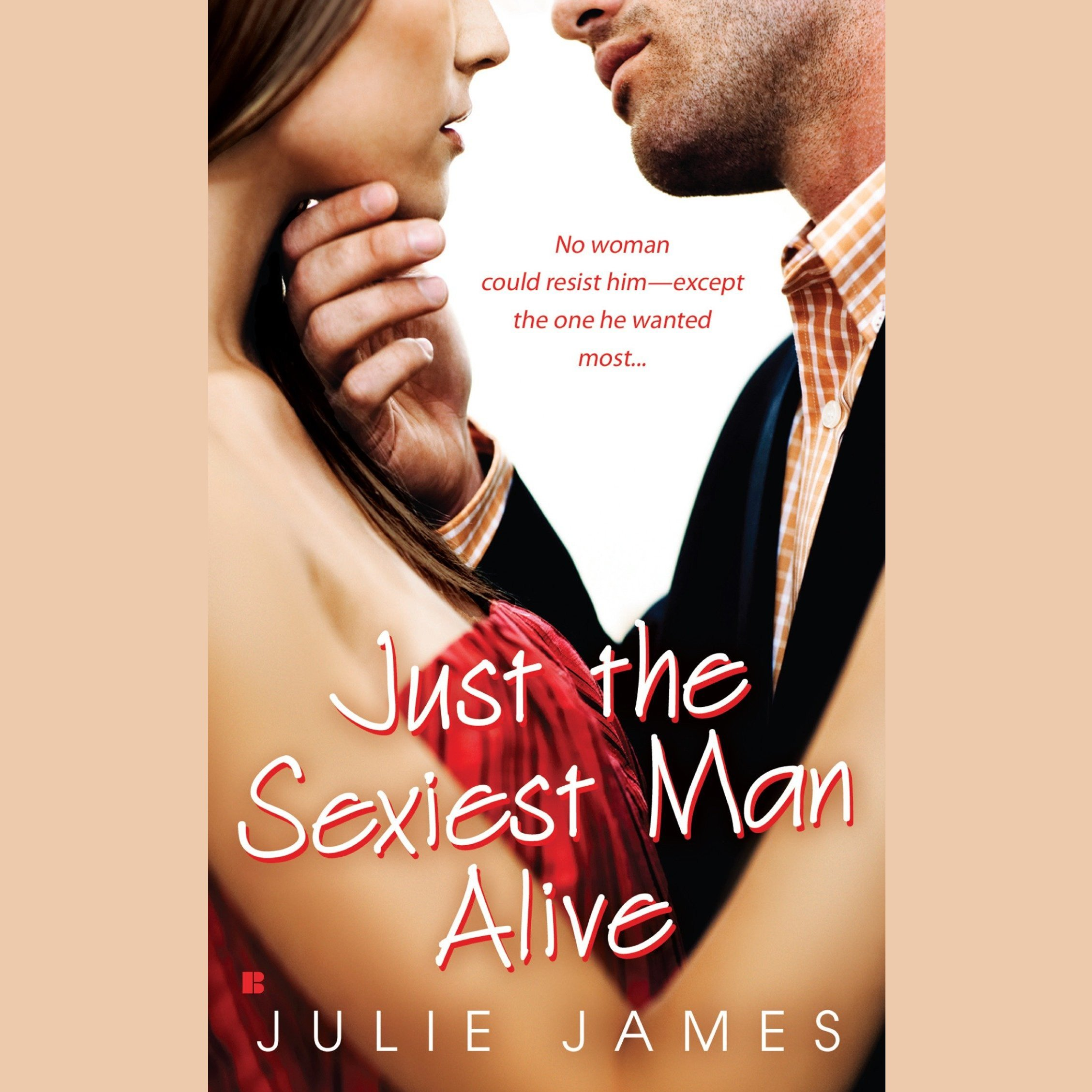 Printable Just the Sexiest Man Alive Audiobook Cover Art