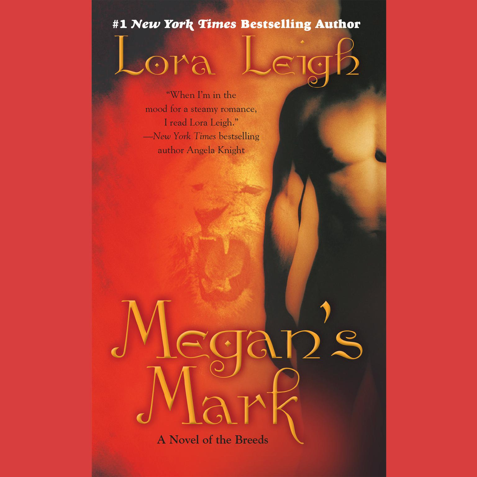 Printable Megan's Mark: A Novel of the Breeds Audiobook Cover Art