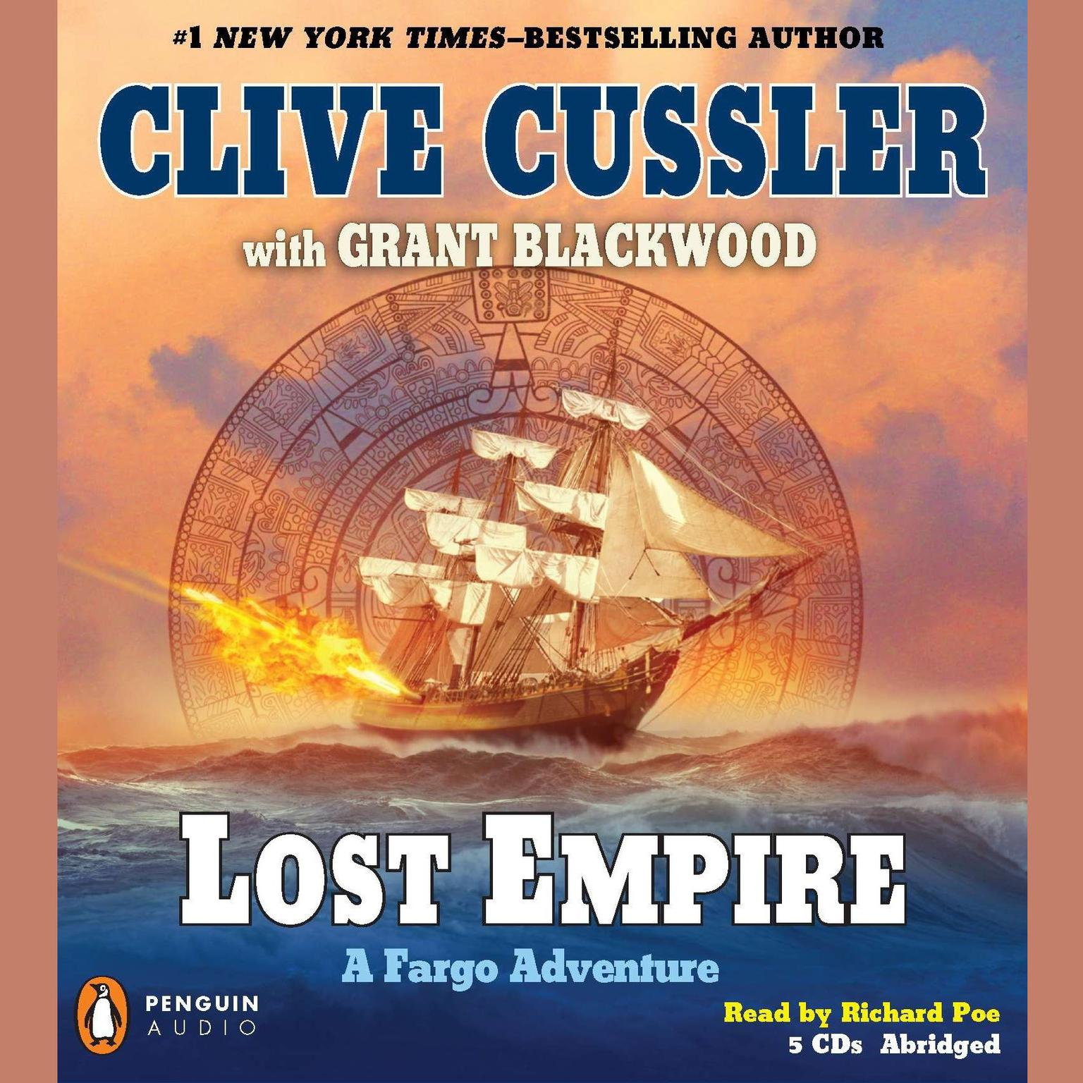 Printable Lost Empire: A Fargo Adventure Audiobook Cover Art