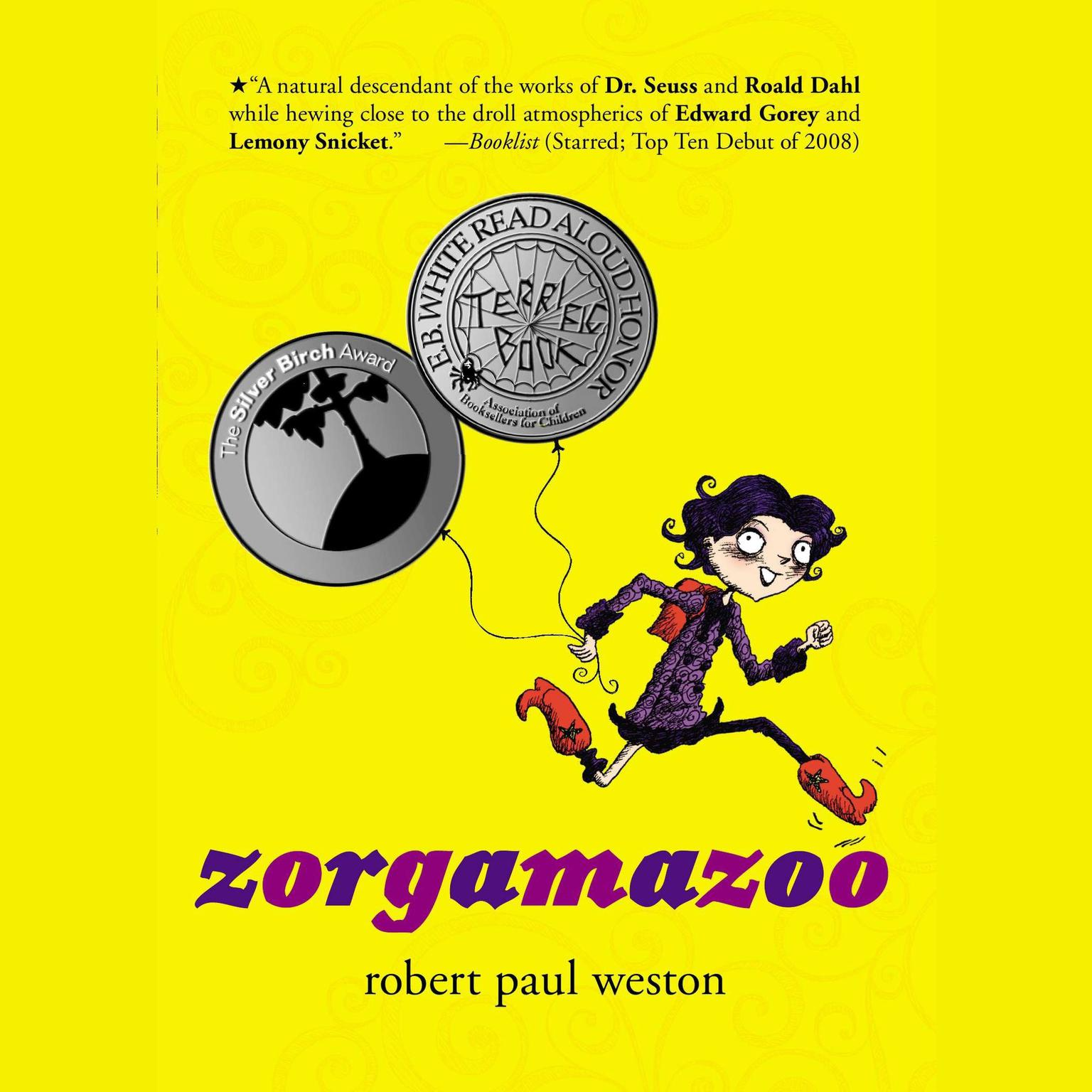 Printable Zorgamazoo Audiobook Cover Art