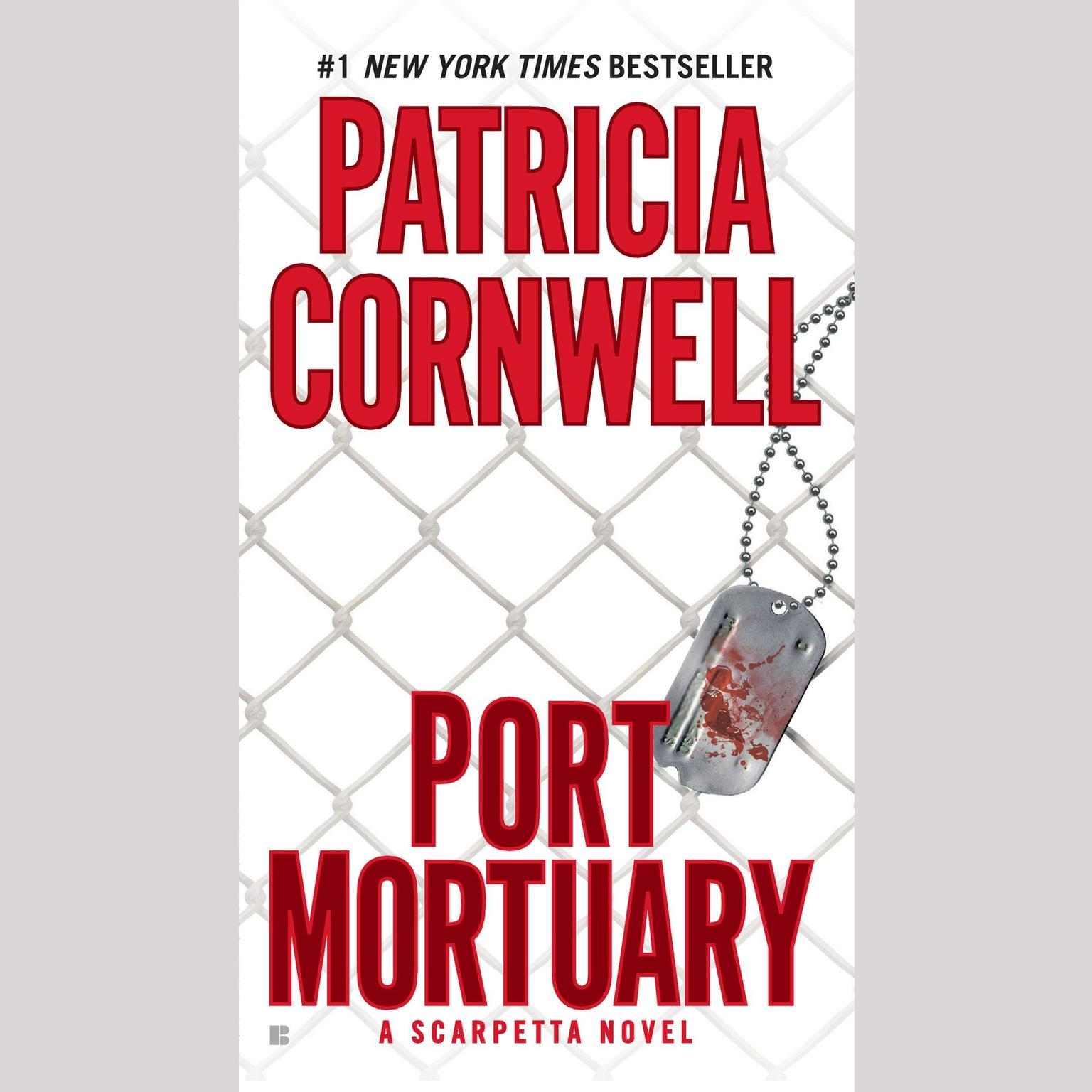 Printable Port Mortuary: Scarpetta (Book 18) Audiobook Cover Art