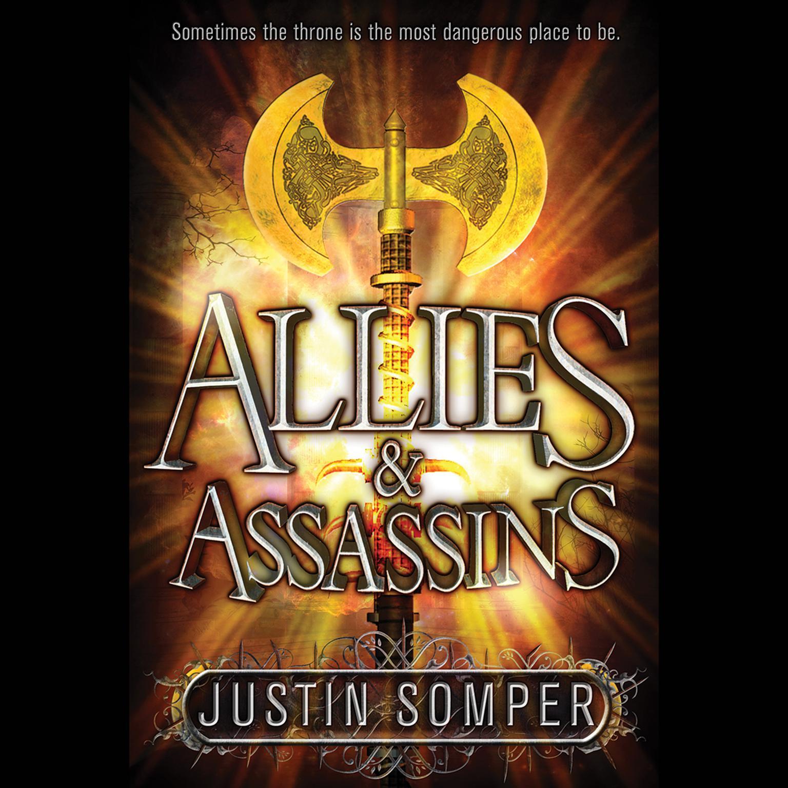 Printable Allies & Assassins Audiobook Cover Art