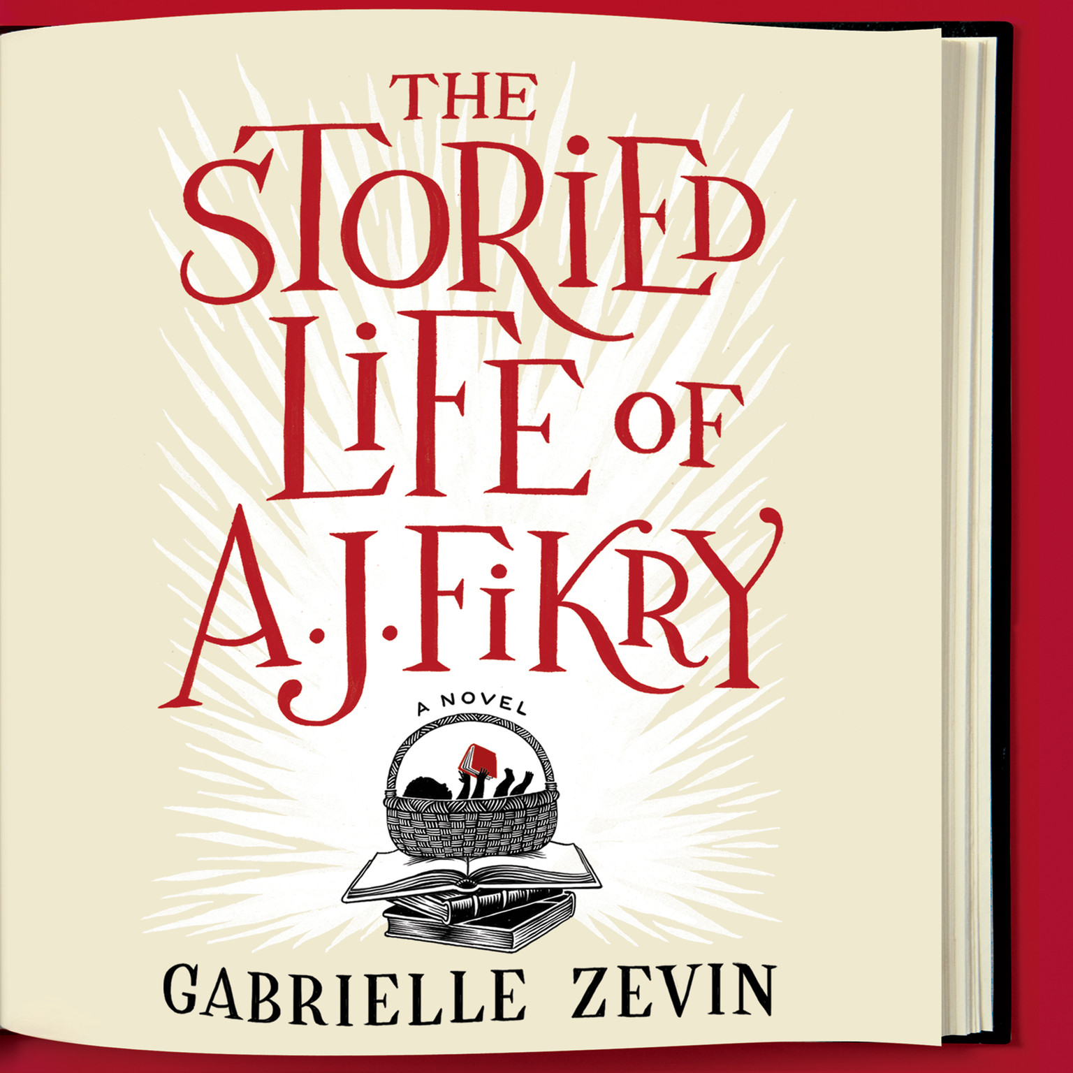 Printable The Storied Life of A. J. Fikry Audiobook Cover Art