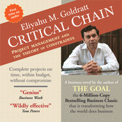 Critical Chain Audiobook, by Eliyahu M. Goldratt