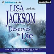Deserves to Die Audiobook, by Lisa Jackson
