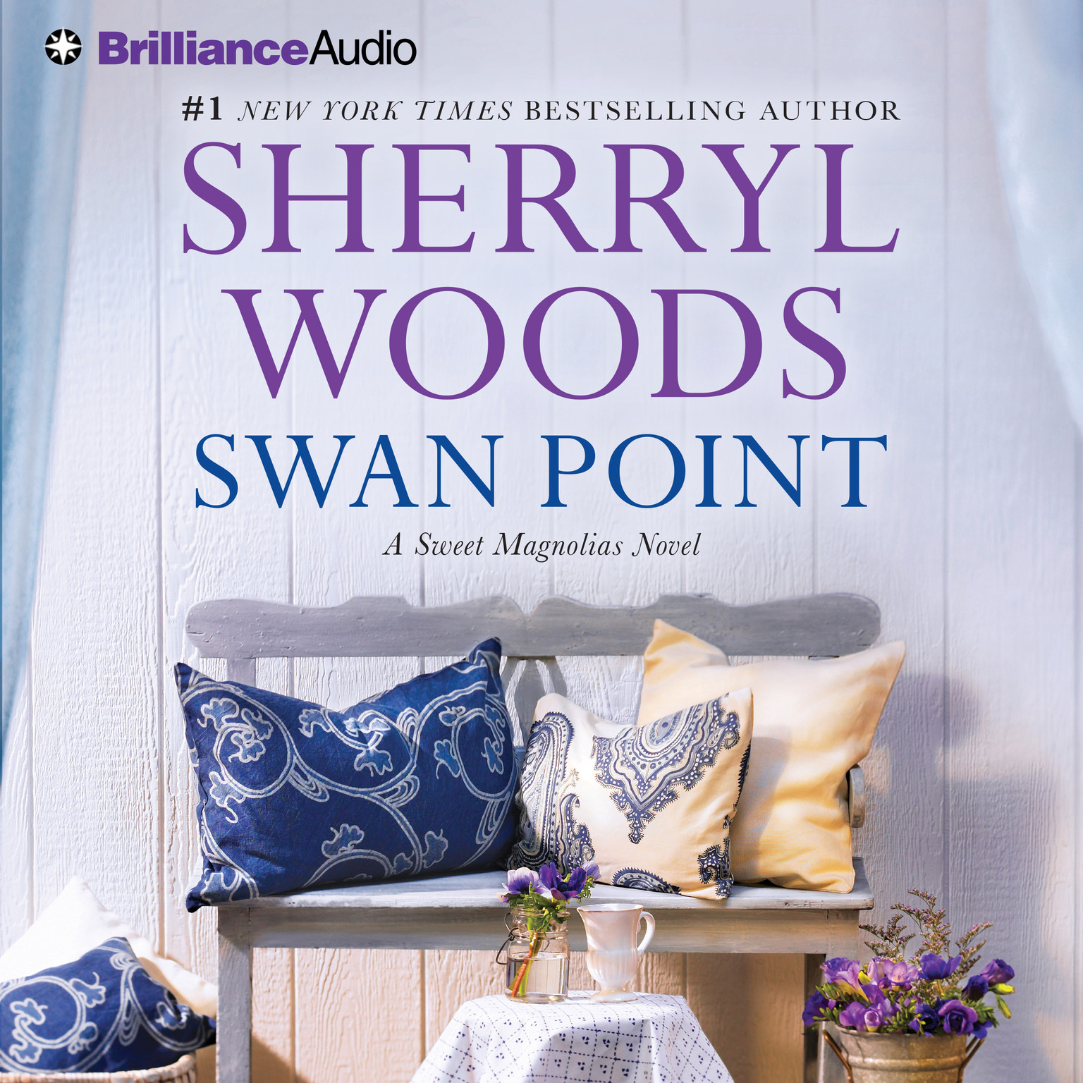 Printable Swan Point Audiobook Cover Art