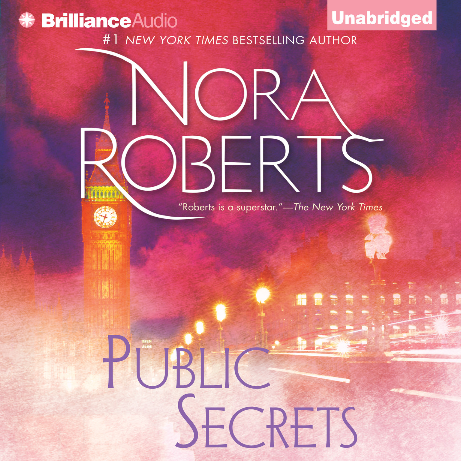 Printable Public Secrets Audiobook Cover Art