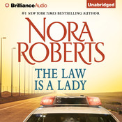 The Law is a Lady Audiobook, by Nora Roberts