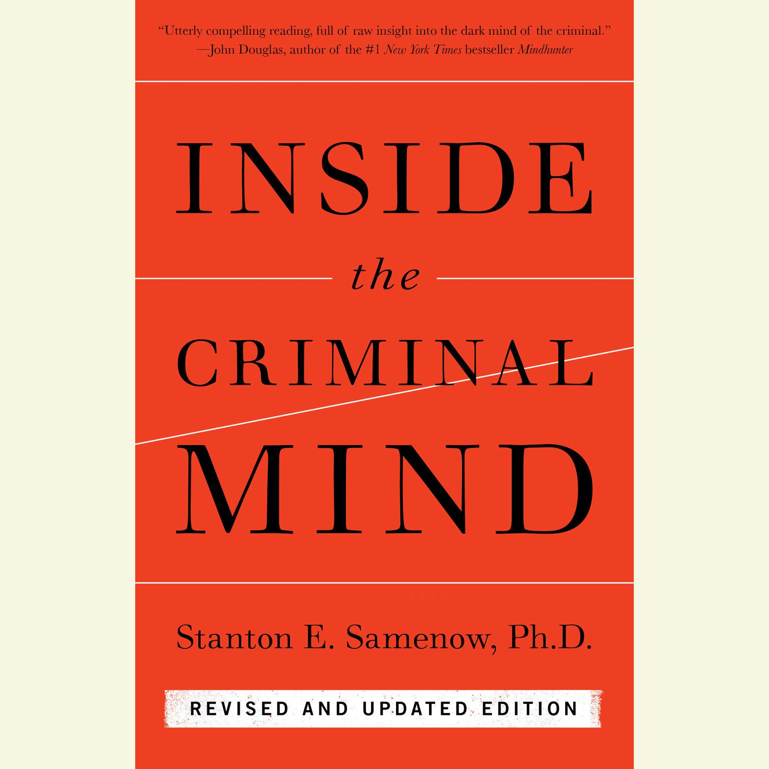 Printable Inside the Criminal Mind: Revised and Updated Edition Audiobook Cover Art