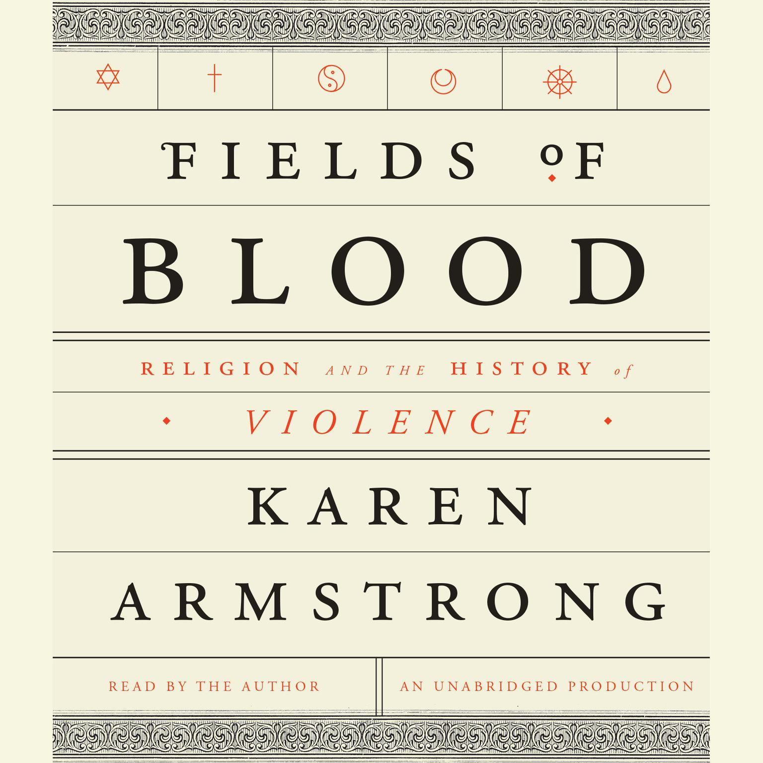 Printable Fields of Blood: Religion and the History of Violence Audiobook Cover Art