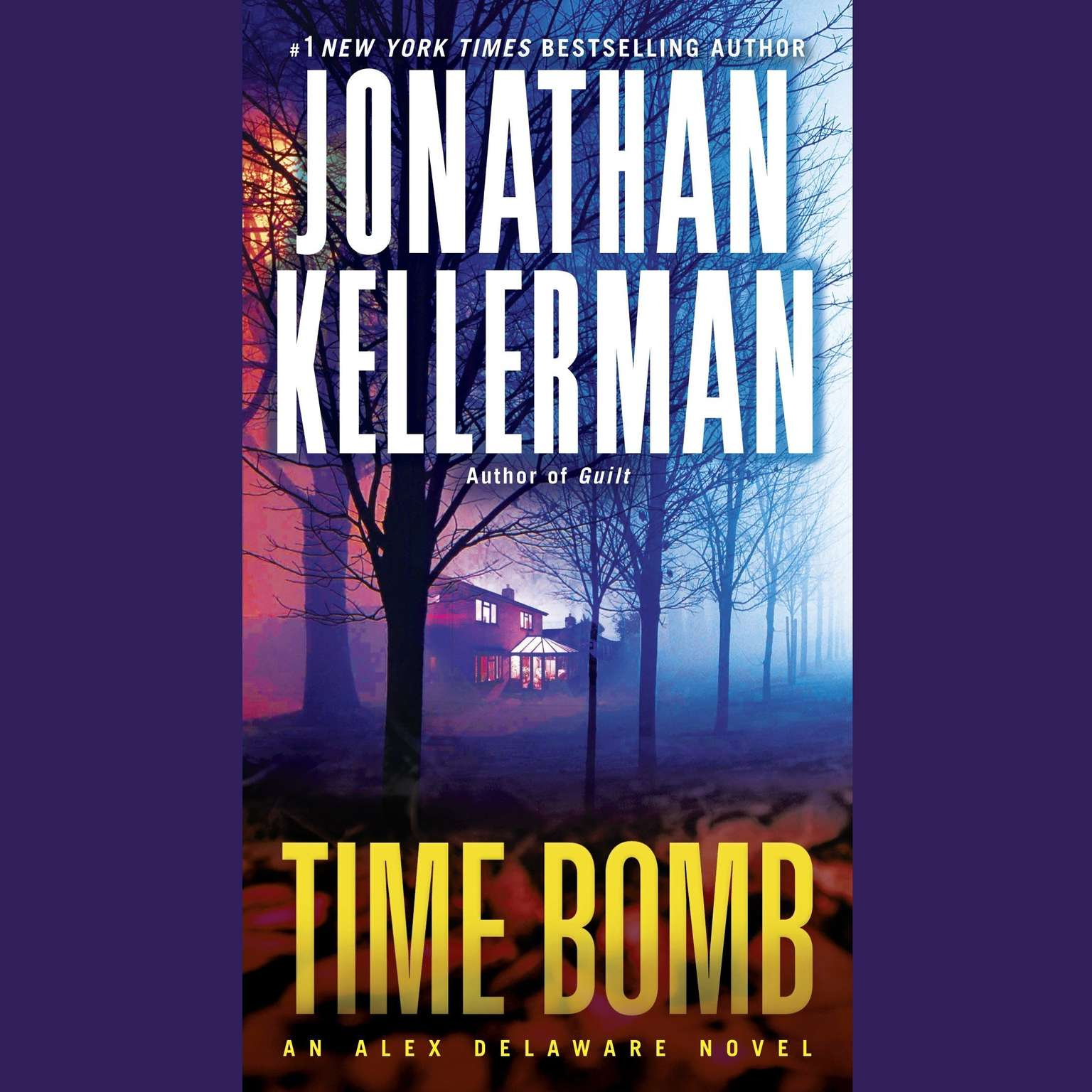 Printable Time Bomb: An Alex Delaware Novel Audiobook Cover Art