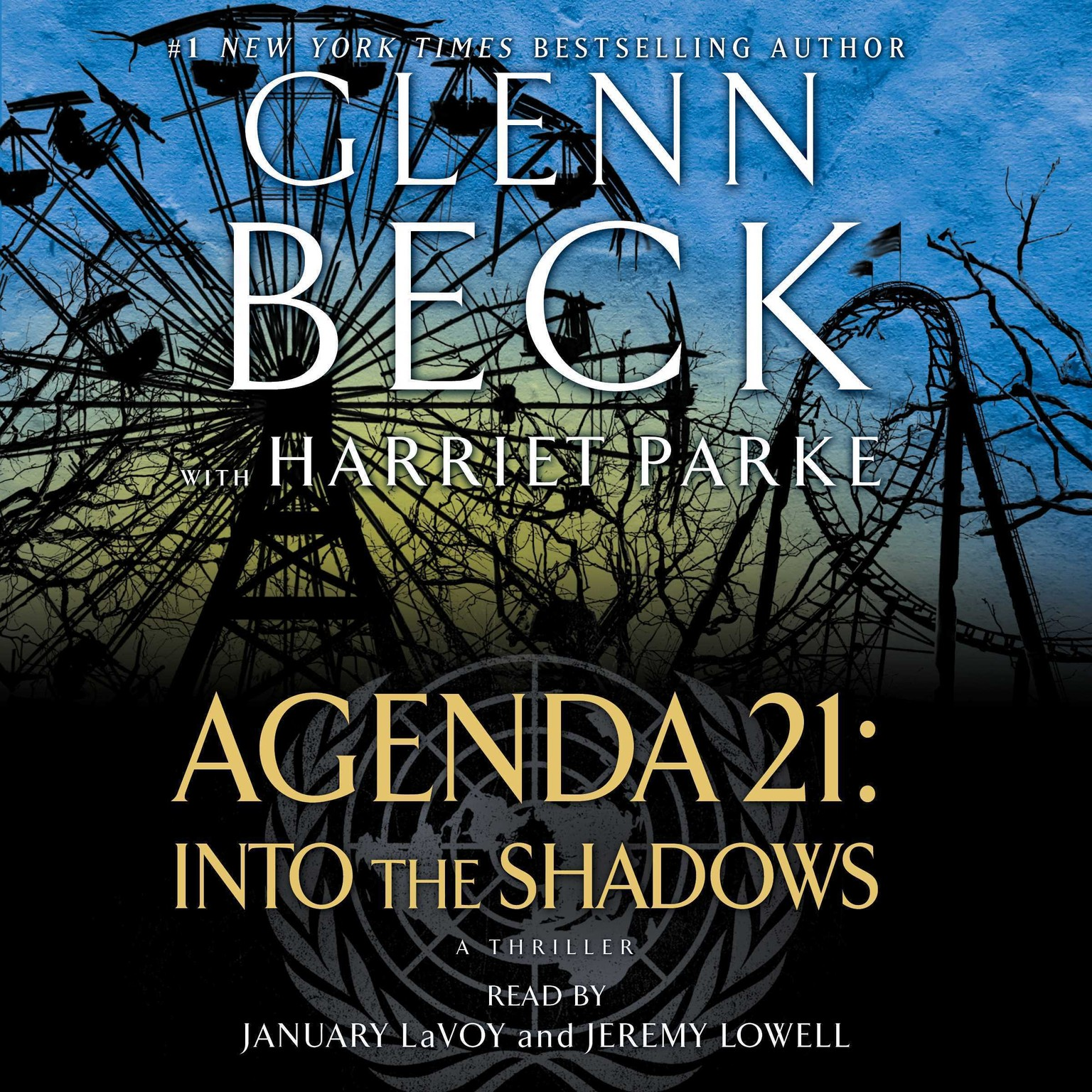 Printable Agenda 21: Into the Shadows Audiobook Cover Art