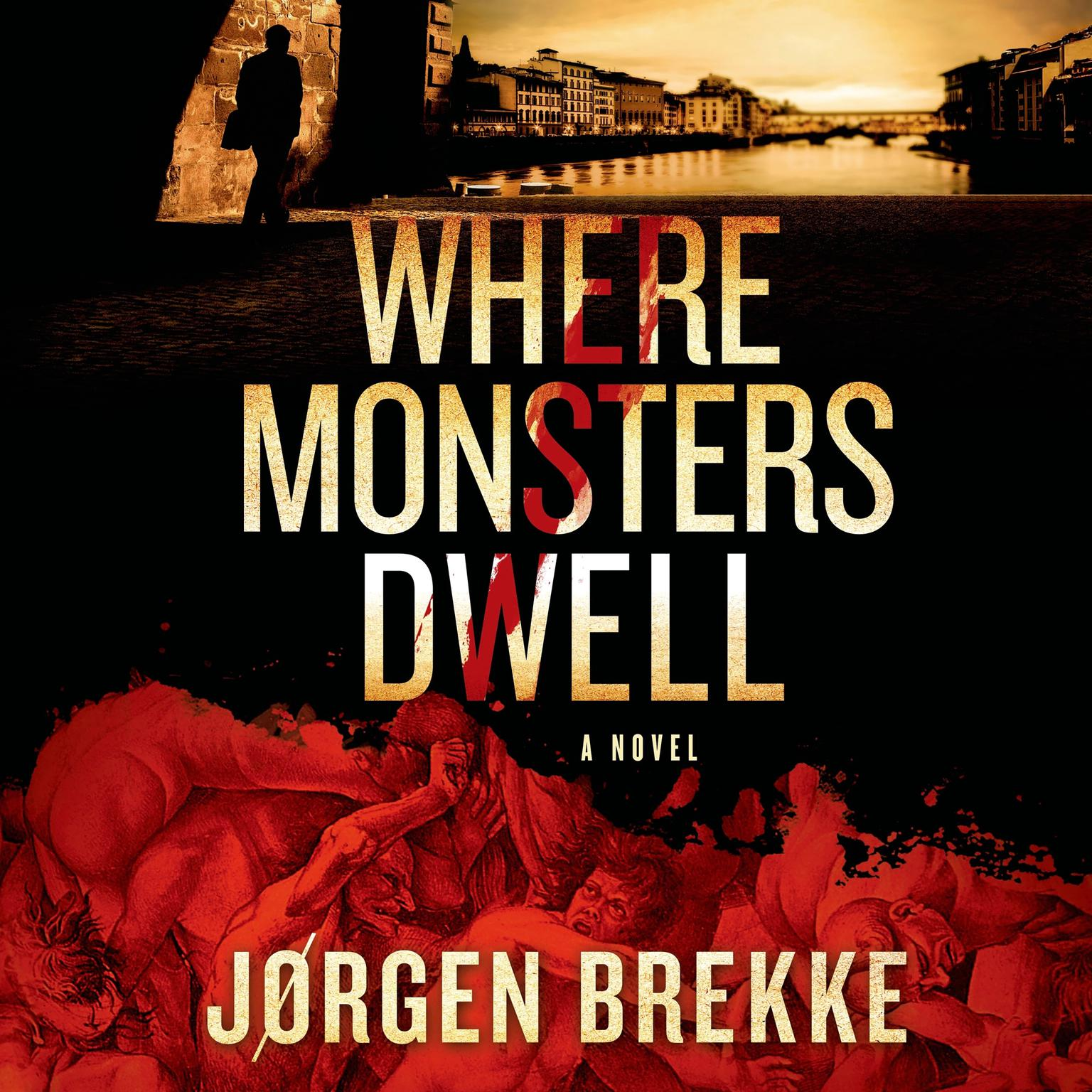 Printable Where Monsters Dwell Audiobook Cover Art