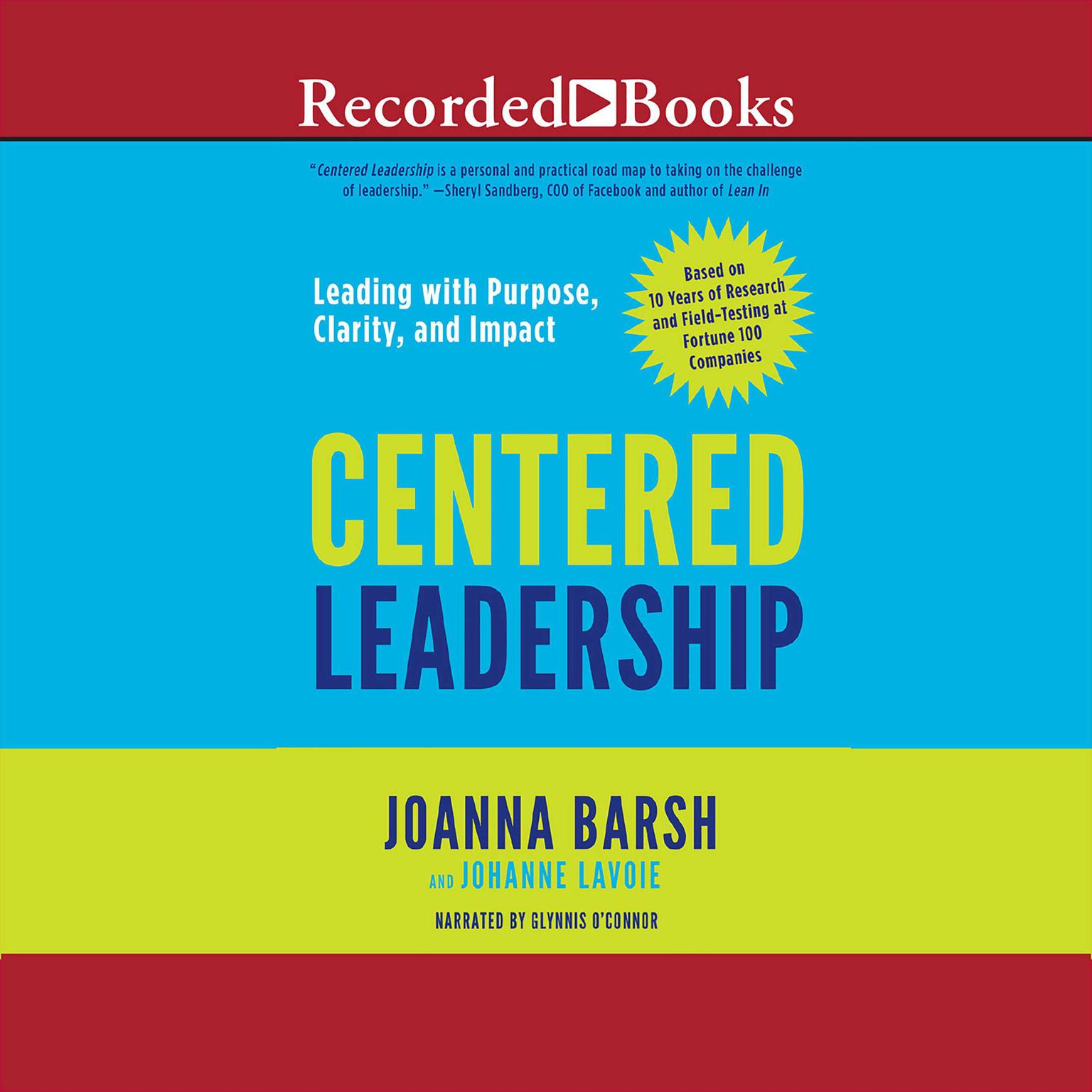 Printable Centered Leadership: Leading with Purpose, Clarity, and Impact Audiobook Cover Art