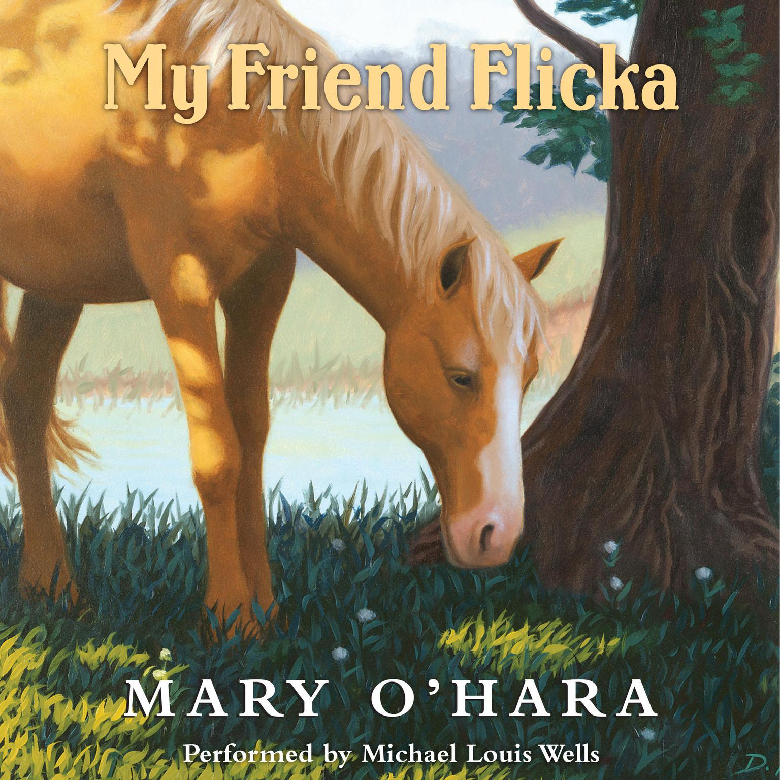 Printable My Friend Flicka Audiobook Cover Art