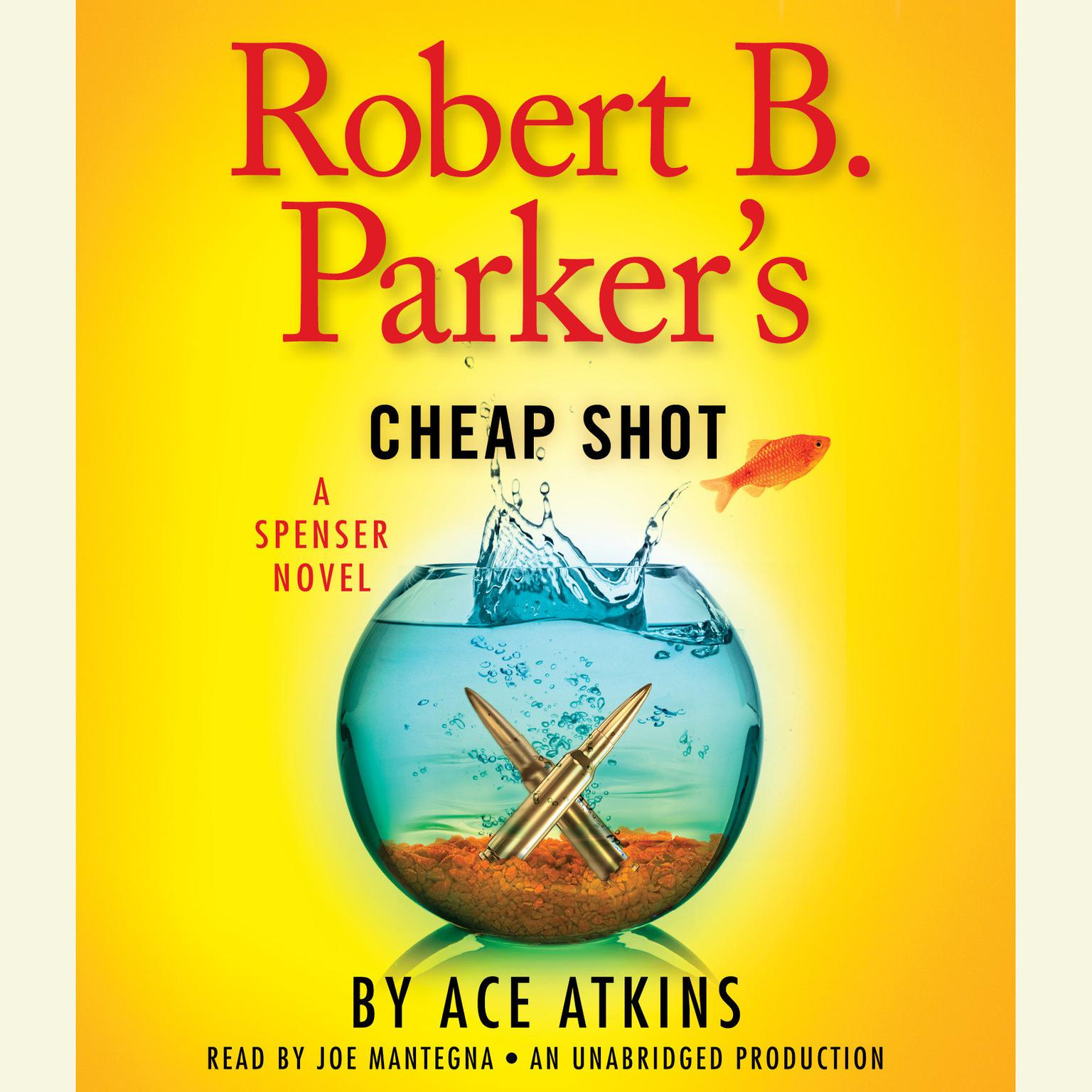 Printable Robert B. Parker's Cheap Shot Audiobook Cover Art