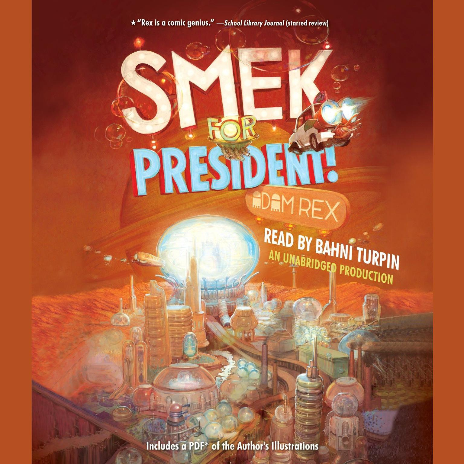 Printable Smek for President Audiobook Cover Art