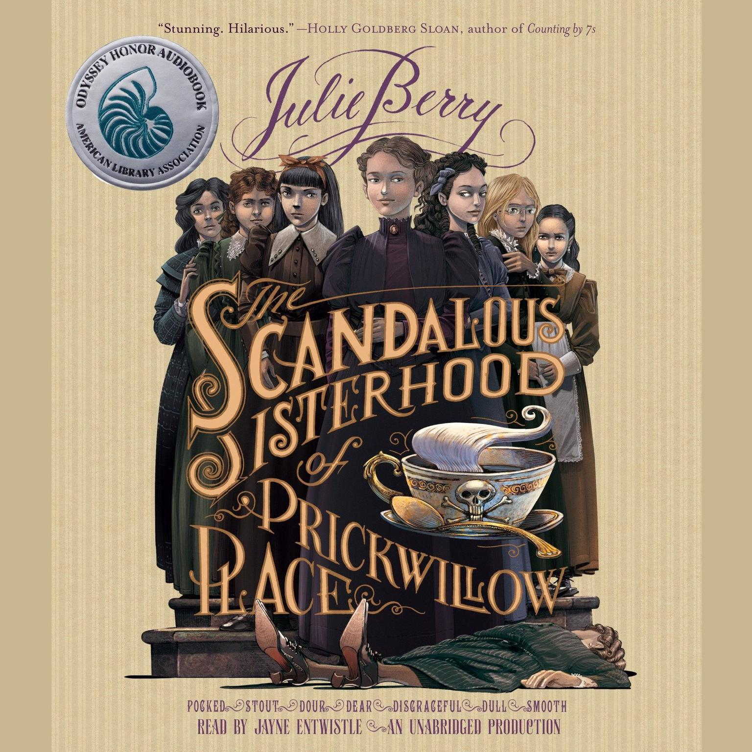 Printable The Scandalous Sisterhood of Prickwillow Place Audiobook Cover Art