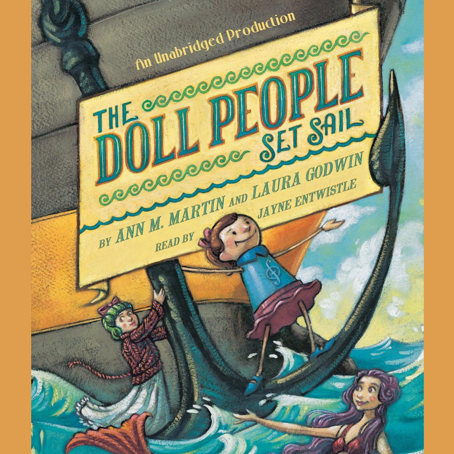 Printable The Doll People Set Sail Audiobook Cover Art