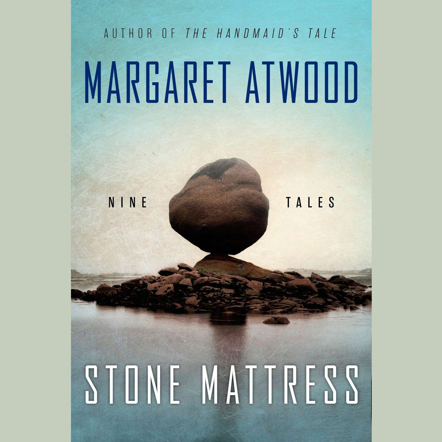 Printable Stone Mattress: Nine Tales Audiobook Cover Art