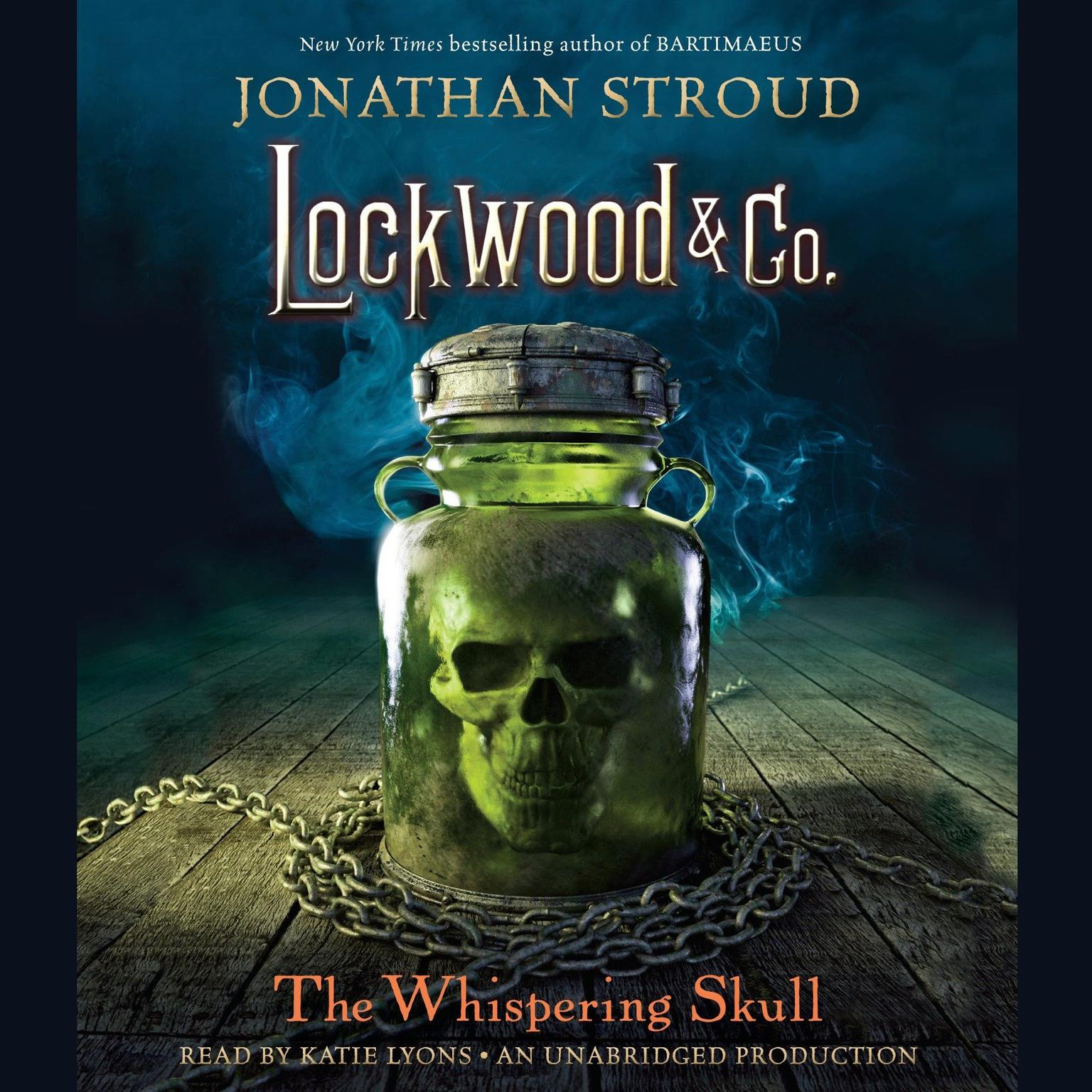 Printable The Whispering Skull Audiobook Cover Art