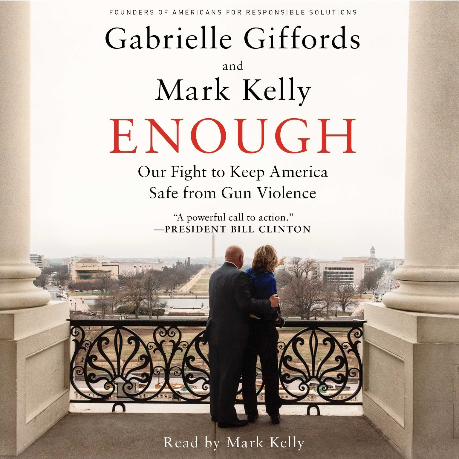Printable Enough: Our Fight to Keep America Safe from Gun Violence Audiobook Cover Art