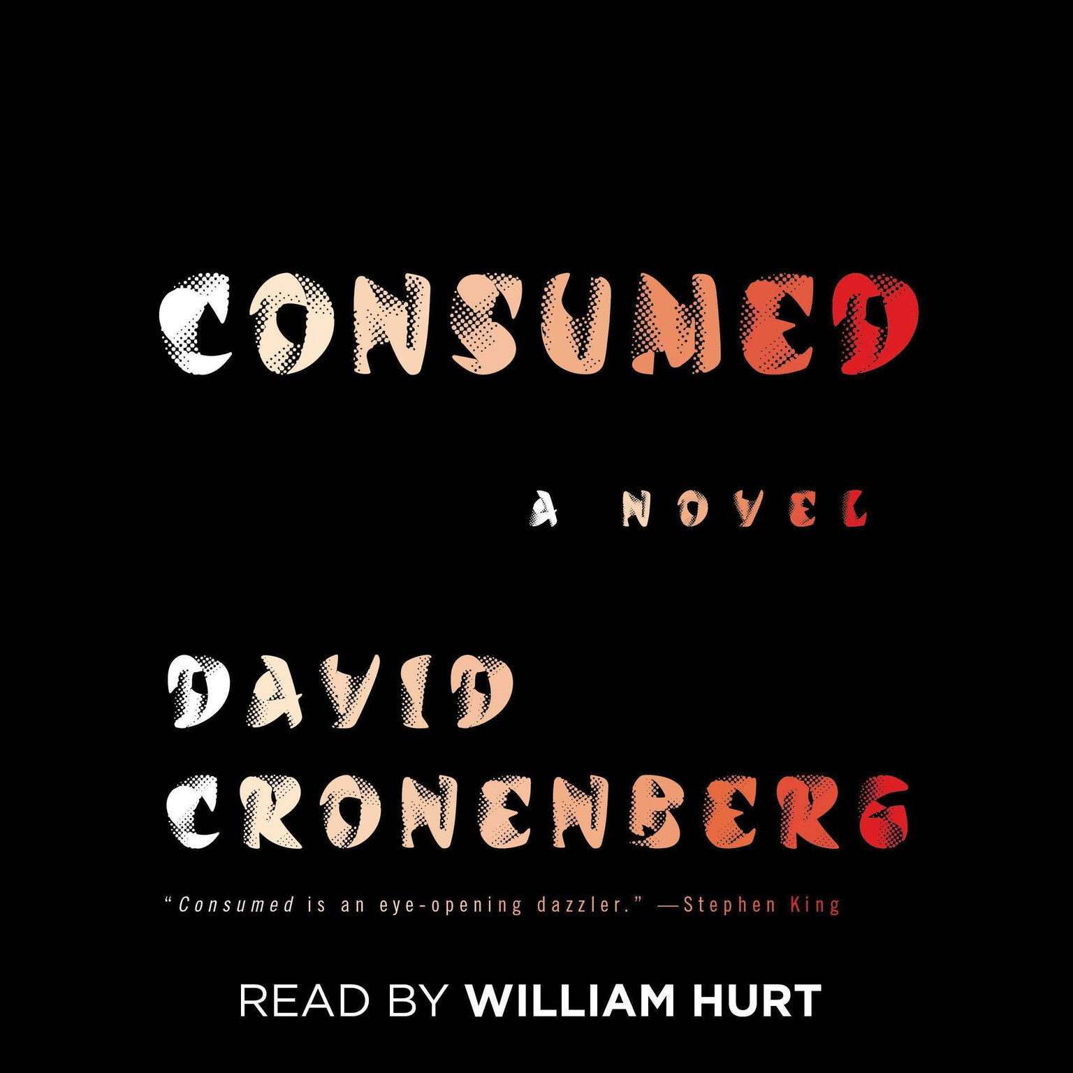 Printable Consumed: A Novel Audiobook Cover Art