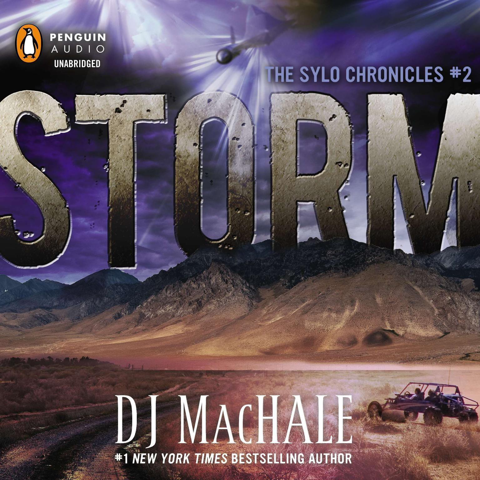 Printable Storm: The SYLO Chronicles #2 Audiobook Cover Art