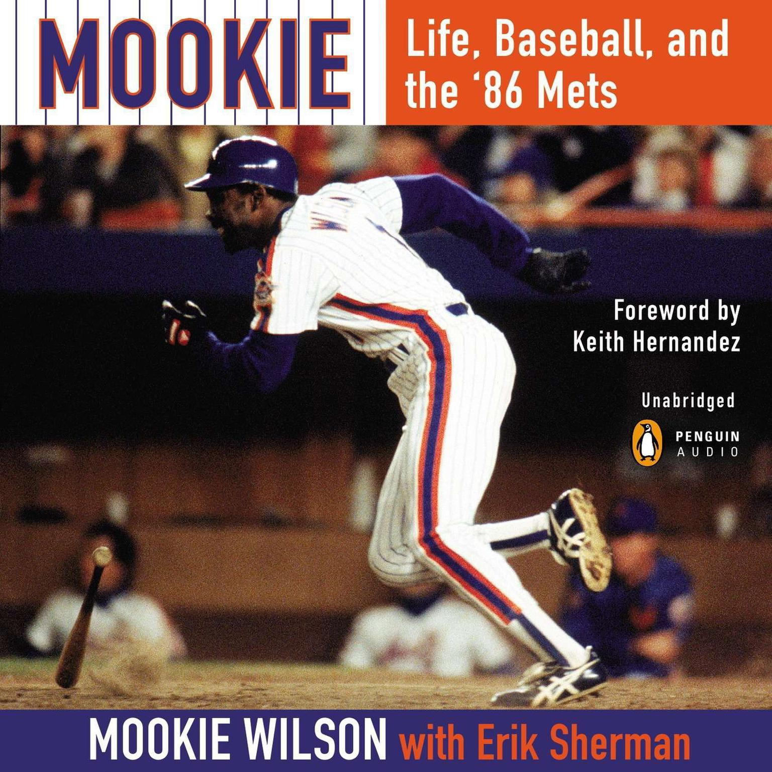 Printable Mookie: Life, Baseball, and the '86 Mets Audiobook Cover Art