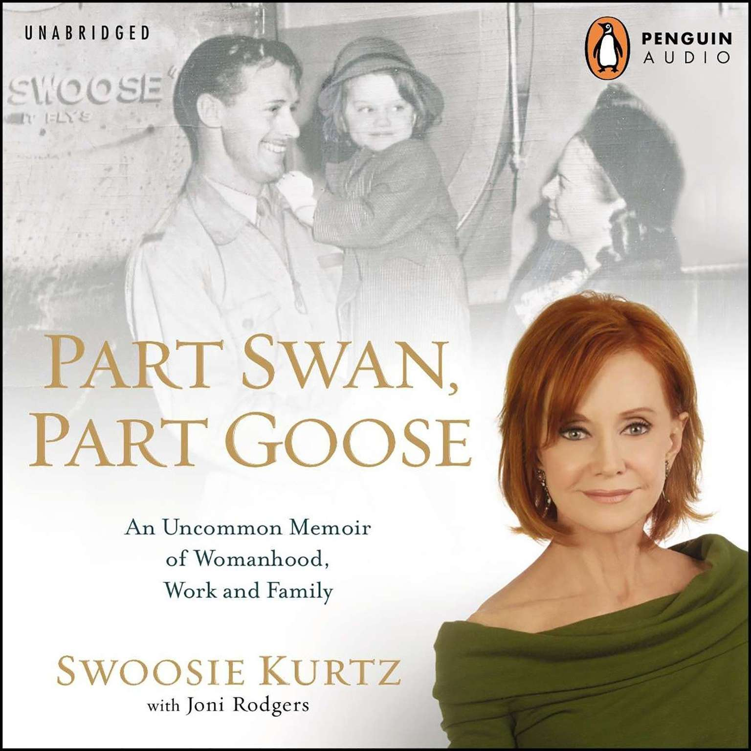 Printable Part Swan, Part Goose: An Uncommon Memoir of Womanhood, Work, and Family Audiobook Cover Art