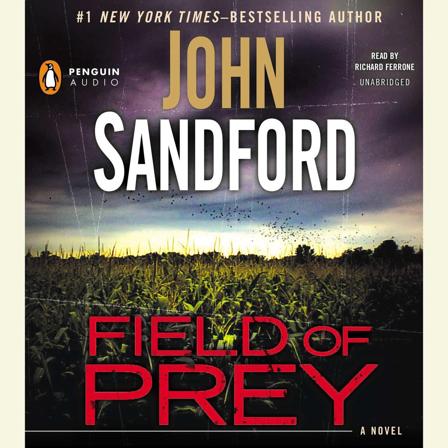 Printable Field of Prey Audiobook Cover Art