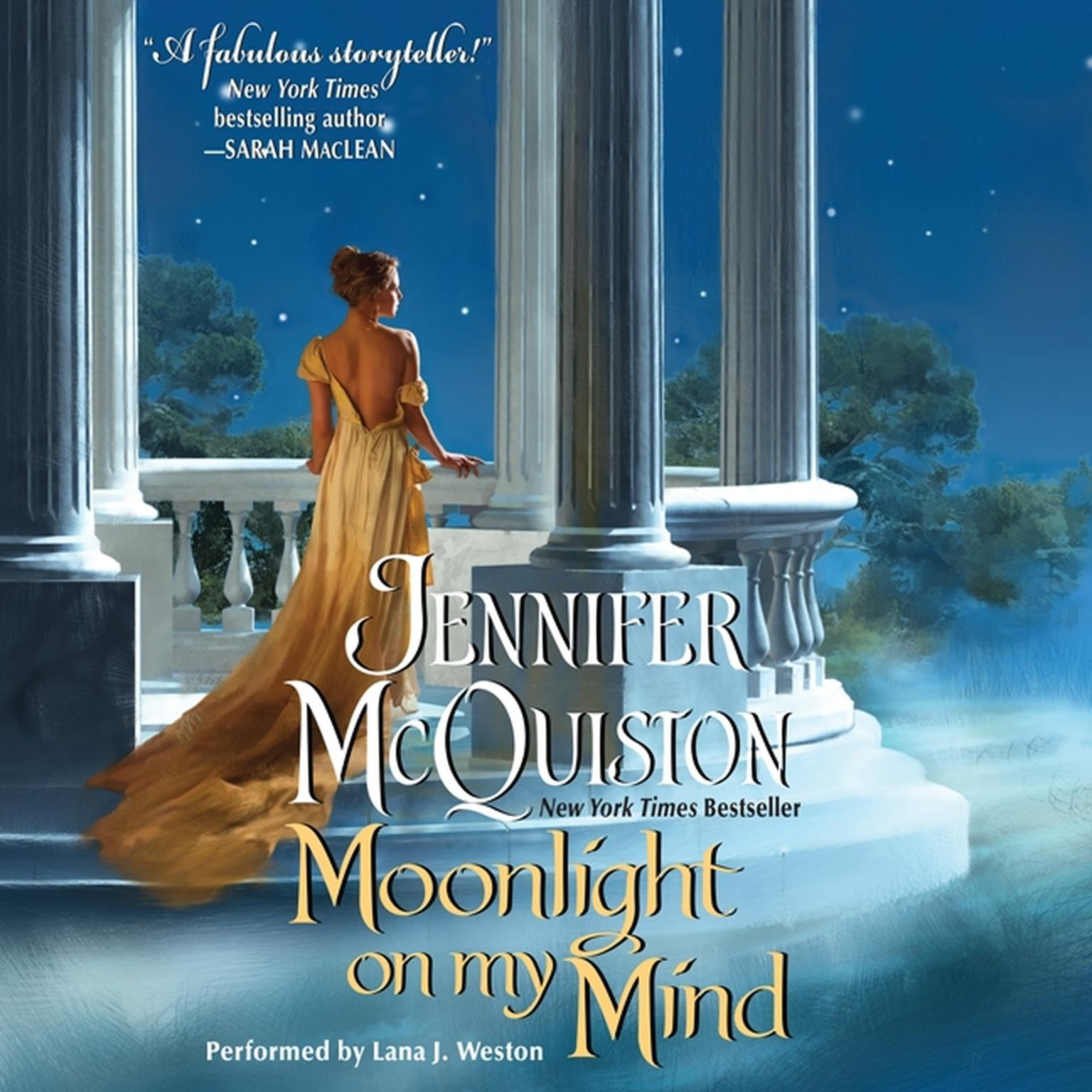 Printable Moonlight on My Mind Audiobook Cover Art