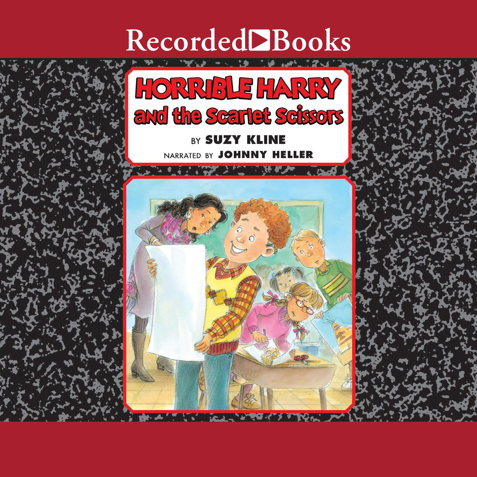 Printable Horrible Harry and the Scarlet Scissors Audiobook Cover Art