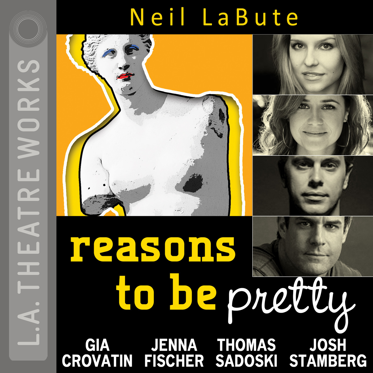 Printable Reasons to Be Pretty Audiobook Cover Art