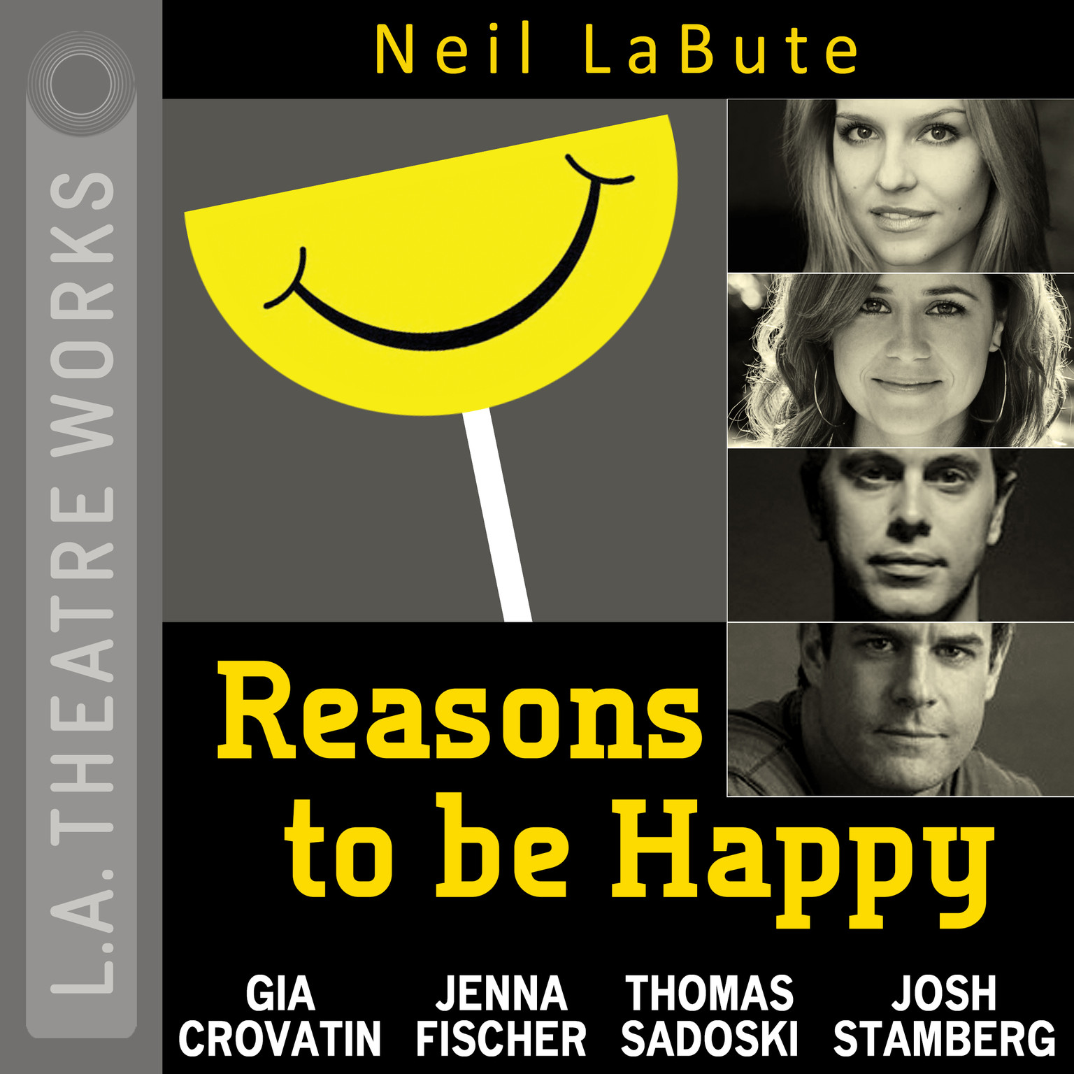 Printable Reasons to Be Happy Audiobook Cover Art