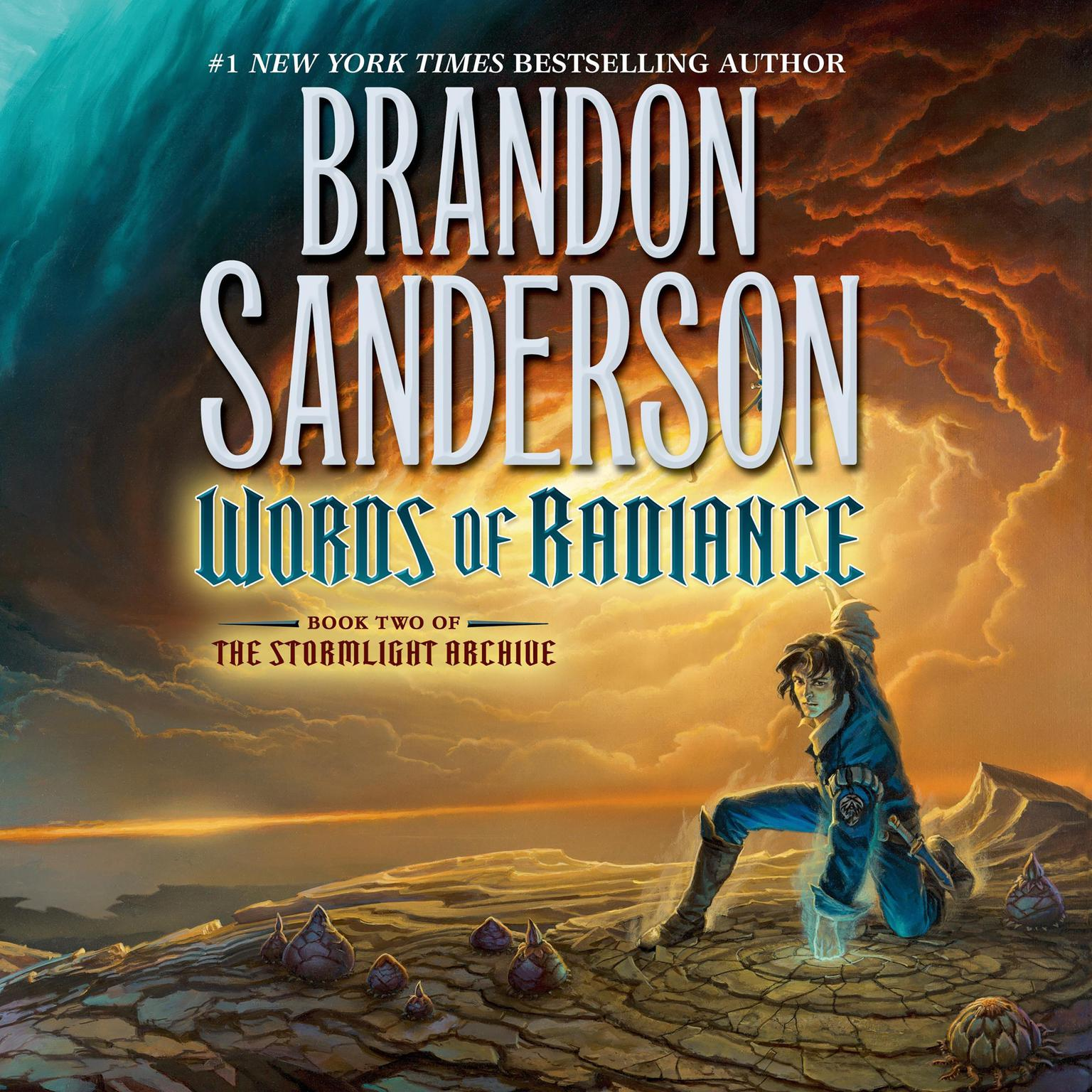 Printable Words of Radiance: Book Two of the Stormlight Archive Audiobook Cover Art